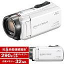 【送料無料】JVC GZ-R400-W パールホワイト Ev...
