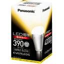40.000時間の長寿命!LED電球 [EVERLEDS] クリプトン型 E17口金 全光束390lm(電球色)PANASONIC《ミニクリプトン型・電球色》LDA6L-E17