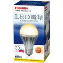 40,000時間の長寿命!LED電球 [E-CORE] 一般電球形 E26口金 全光束330lm(電球色)TOSHIBA LED電球 E-CORE LDA6L