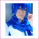 【送料無料】お兄さん/KAITO風 青い(ブルー) ウィッグ caw01【ウイッグ コスプレ 仮装