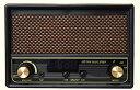 【セール中】FESCO 唱歌ラヂオ DX100 AM/FMラジオ付き音楽プレイヤー SRDX-001