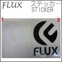 FLUX ステッカー スノーボード 小物 【フラックス ビンディング】 STICKER !! スノーボードブランド ステッカー