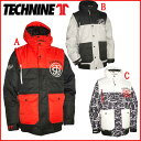 TECHNINEウェア(T9)【メンズジャケット】テックナイン13-14(TECHNINEウェア)SUPAPUFFJACKET2013-2014 モデルスノーボードスノボウェアー