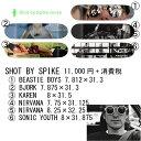 [正規品] SPIKE JONZE GIRL SKATEBOARDS デッキ SHOT BY SPIKE JONZE スパイクジョーンズ コラボ ガール スケートボード SKATEBOARD
