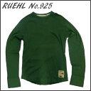 RUEHL No. 925 メンズ 長袖 カットソー グリーン/緑 (ルール ナンバー925) アバクロ (abercrombie) 姉妹ブランド アメカジ (アメリカン カジュアル) ワッフル生地