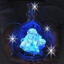 ベアーアイ 光るバラ クリスマス 記念日プレゼント フラワーギフト プリザーブドフラワー バラ ガラス ケース 退職祝い 女性 結婚記念日 ギフト 名入れ 花 還暦祝い 母 結婚祝い 誕生日プレゼント【あす楽】【送料無料】