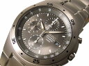 セイコー SEIKO チタン クロノグラフ メンズ 腕時計 SND419P1 グレー×シルバー メタルベルト