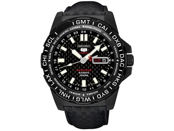 セイコー SEIKO 5 SPORTS 逆輸入 自動巻き 腕時計 SRP723K1 カーボン 限定モデル 送料無料/SEIKO 5 SPORTS 時計 腕時計 逆輸入