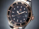 エルジン ELGIN 腕時計 200m防水 自動巻き ダイバーズ FK1405PS-B コンビ