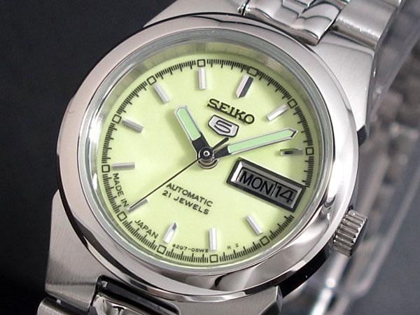SEIKO 5 セイコー5 逆輸入 日本製 レディース 自動巻き 腕時計 SYMG57J1 メタルベルト ブレスレット 送料無料/SEIKO 5 セイコーファイブ 時計 腕時計 逆輸入
