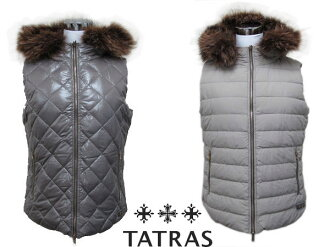 TATRAS タトラス BIANCA ladies ' reversible down vest LTA13A4292 SAND 02