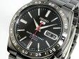SEIKO 5 セイコー5 逆輸入 日本製 自動巻き メンズ 腕時計 SNKE03J1 ブラック×ガンメタ メタルベルト