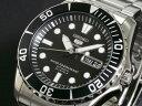 セイコー SEIKO 5 SPORTS 逆輸入 自動巻き メンズ 日本製 腕時計 SNZF17J1 ブラック×シルバー メタルベルト