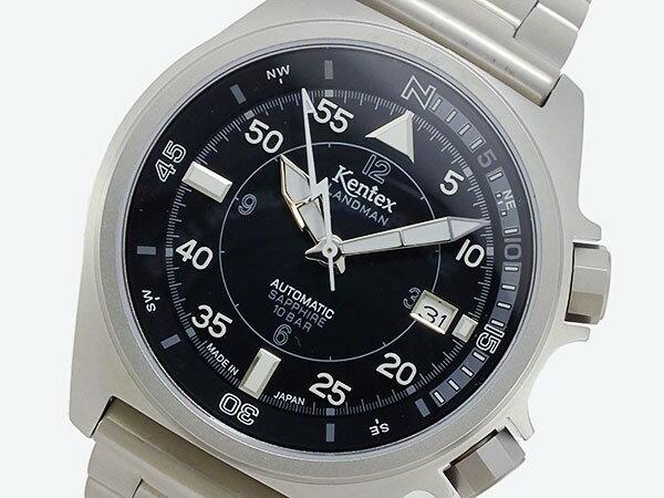 ケンテックス KENTEX ランドマン 自動巻き メンズ 腕時計 S678X-05 ベルト調整工具無料/送料無料/KENTEX ケンテックス 時計 腕時計