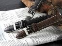 腕時計 替えベルト カーフシュリンクステッチ カーフ 20mm PLCSS251BKSV