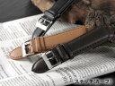 腕時計 替えベルト カーフステッチ カーフ 22mm MFC202BKSV