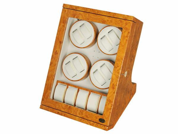 ワケアリB品 アウトレット アウトレット LUWH 8本 ウォッチワインダー ワインディングマシーン 腕時計 13本 収納 LU30008RW ウッド 送料無料/ワインダー 巻き上げ機 自動巻き 腕時計 ウォッチ