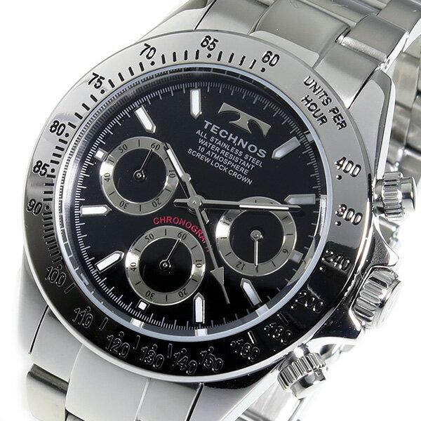 テクノス TECHNOS 腕時計 メンズ TSM401SB クロノグラフ 送料無料/TECHNOS 時計 腕時計 ウォッチ