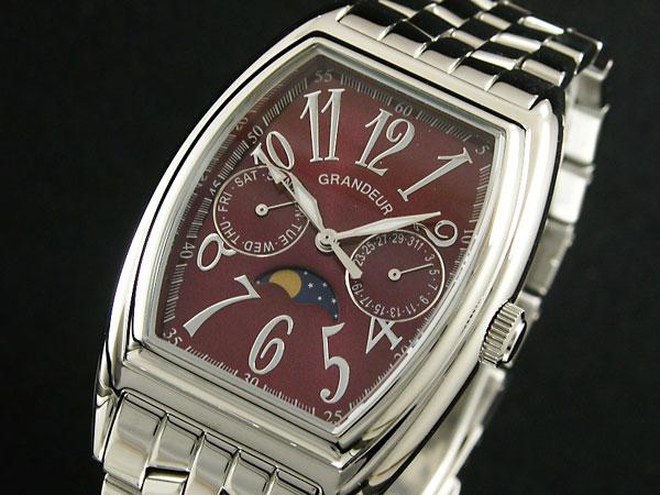GRANDEUR グランドール 腕時計 メンズ JGR002W2 クオーツ 日本製 送料無料/GRANDEUR グランドール 時計 腕時計 ウォッチ【少ない】