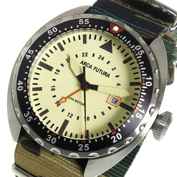 ARCA FUTURA アルカフトゥーラ 腕時計 メンズ 3750IV2 クオーツ 送料無料/ARCA FUTURA アルカフトゥーラ 時計 腕時計 ウォッチ