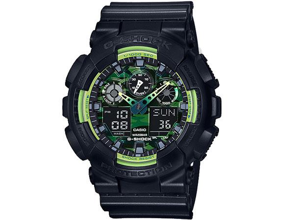 カシオ CASIO Gショック G-SHOCK アナデジ メンズ 腕時計 GA-100LY-1A 送料無料/G-SHOCK ジーショック 時計 腕時計 ウォッチ完全なスタイル
