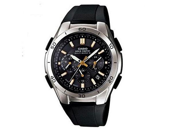 カシオ CASIO WAVECEPTER 電波 ソーラー WVQ-M410-1A2JF ブラック 送料無料/CASIO カシオ 時計 腕時計 ウォッチ【仕分け】