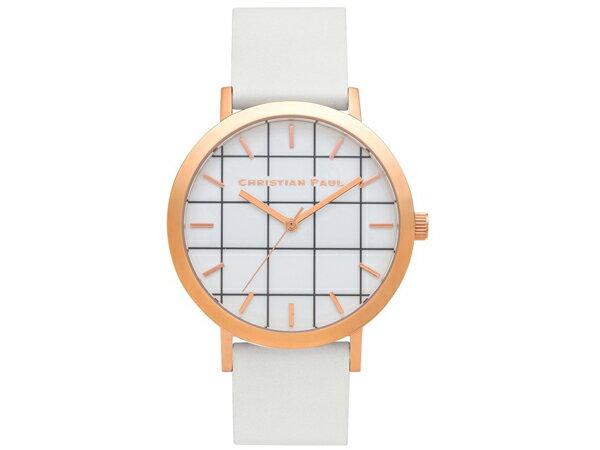 Christian Paul クリスチャンポール 腕時計 グリッド レディース ユニセックス 43mm GR-03 送料無料/KATE SPADE 時計 腕時計 ウォッチ