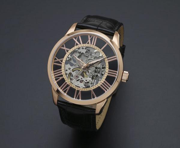 サルバトーレマーラ 手巻き メンズ 腕時計 SM16101-PGBK 送料無料/Salvatore Marra 時計 腕時計 ウォッチ