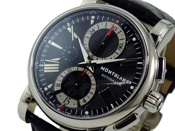 モンブラン MONTBLANC スター STAR 自動巻き 腕時計 102377 ブラック 送料無料/高級ブランド メンズ 時計 腕時計 ウォッチ