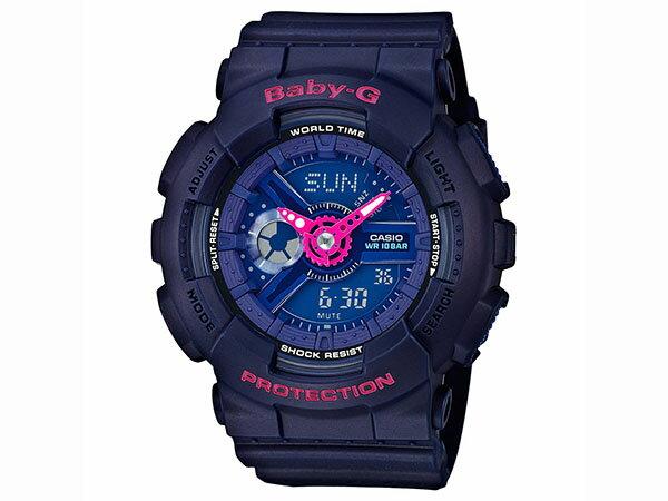カシオ CASIO ベビーG BABY-G 逆輸入 アナデジ レディース 腕時計 BA-110PP-2A 送料無料/Baby-G ベビージー 時計 腕時計 ウォッチ