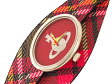 ヴィヴィアン ウエストウッド VIVIENNE WESTWOOD オーブ 腕時計 レディース VV056PKBR ピンク×チェック レザーベルト