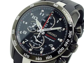 Seiko SEIKO sportura Chronograph Watch SNAE89P1 black