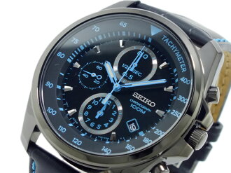Seiko SEIKO Chronograph Watch SNDD71P1 black & blue