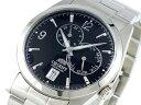 オリエント ORIENT 自動巻き マルチファンクション 腕時計 URL001ET メンズ ブラック×シルバー メタルベルト