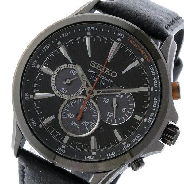 セイコー SEIKO 逆輸入 ソーラー クロノグラフ 腕時計 SSC499P1 送料無料/SEIKO ソーラー 時計 腕時計 逆輸入