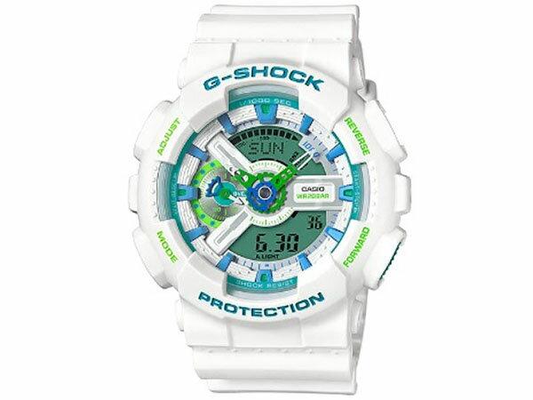 カシオ CASIO Gショック G-SHOCK アナデジ 腕時計 GA-110WG-7A 送料無料/G-SHOCK ジーショック 時計 腕時計 ウォッチ