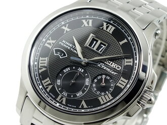Seiko SEIKO Premier kinetic par pettanko perpetual watch SNP041P1