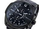 ディーゼル DIESEL クロノグラフ メタルベルト 腕時計 メンズ DZ4283 ブラック