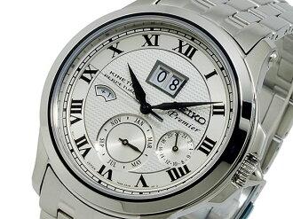Seiko SEIKO Premier kinetic par pettanko perpetual watch SNP039P1