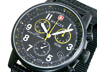Wenger WENGER command chronograph wristwatch 70724 XL