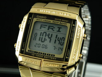 Casio CASIO databank DATA BANK Watch Gold DB360G-9A