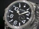 ニクソン NIXON 腕時計 フィフティーワンサーティー 51-30 TIDE メンズ A057-000 ブラック×シルバー メタルベルト