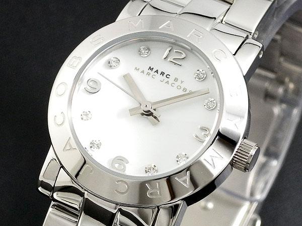 マークバイ マークジェイコブス MARC BY MARC JACOBS 腕時計 MBM3055 レディース シルバー メタルベルト ベルト調整工具無料/送料無料/Marc Jacobs 時計 腕時計 ウォッチ