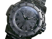 ルミノックス LUMINOX ロッキードコレクション F117 ナイトホーク メンズ 腕時計 6402BO ブラックアウト メタルベルト