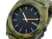 ニクソン NIXON タイムテラー TIME TELLER アセテート 腕時計 A327-1428 カモフラ×ブラック メンズ レディース