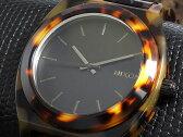 ニクソン NIXON タイムテラー TIME TELLER アセテート 腕時計 A327-646 ベッコウ×ブラック メンズ レディース
