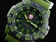 ルミノックス LUMINOX ネイビーシールズ カラーマーク クオーツ メンズ 腕時計 3042 カーキ×ブラック ナイロンベルト