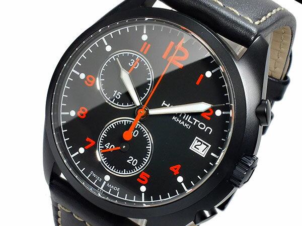 ハミルトン HAMILTON カーキ パイロット パイオニア クロノグラフ メンズ 腕時計 H76582733 レザーベルト 送料無料/HAMILTON ハミルトン 時計 腕時計 ウォッチセイコー 腕時計 レディース 人気