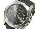 バーバリー BURBERRY スイス製 クロノグラフ メンズ 腕時計 BU9362 シルバー×ブラック レザーベルト