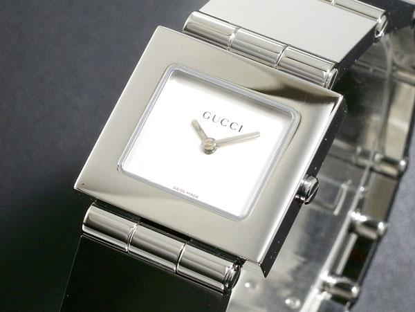 GUCCI グッチ スイス製 クオーツ 腕時計 レディース 600J-SV シルバー ブレスレット メタルベルト 送料無料/GUCCI 時計 腕時計 ウォッチ